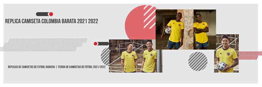 Replica camiseta Colombia barata 2021 2022