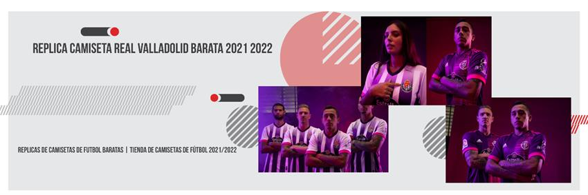 Replica camiseta Real Valladolid barata 2021 2022