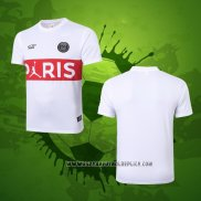 Camiseta de Entrenamiento Paris Saint-Germain 2020-2021 Blanco